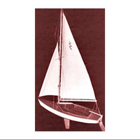 DUMAS 1110 Lightning Sailboat 19 Kit