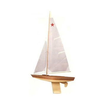 Star Class Wooden Boat Kit by - Dumas