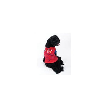 Ethical Pet Products Ethical Pet Lucky Dog Tee in Red