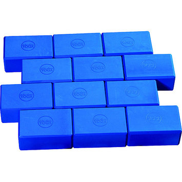 Wai Lana Productions 164 4 in. Foam Yoga Block - Blue