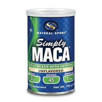 Maca Simply Natural Natural Sport 135 g Powder