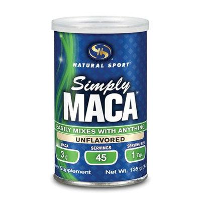 Maca Simply Natural Natural Sport 135 g Powder