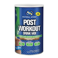 Post Workout (Chocolate) Natural Sport 1,008 g Powder