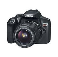 Canon EOS Rebel T6 EF-S 18.7MP DSLR Bundle with 18-55mm IS II Lens