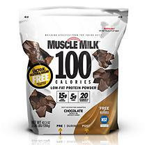 Muscle Milk 100 Calories Low-Fat Protein Powder, Chocolate (2.65 lb.)