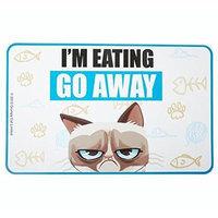 Ganz HGC13197 Grumpy Cat Food Mat I'm Eating Go Away
