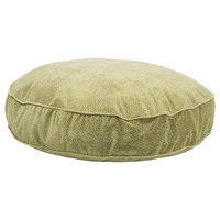 Bowsers Pet Products 9671 36 in. x 6 in. SuperSoft Round Bed Green Apple Bones Celery