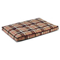 Bowsers Pet Products 10304 Small Luxury Crate Mattress Kensington Plaid