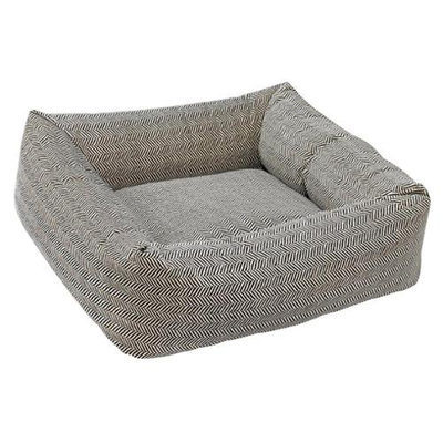 Bowsers Pet Products 11234 28 in. x 25 in. x 8 in. Dutchie Bed Herringbone