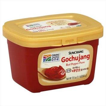 Chung Jung 17.6 oz. One Sunchang Gochujang -Red Pepper Paste Case Of 6