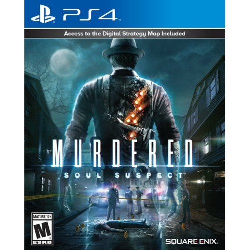 Sony Murdered - Soul Suspect (PlayStation 4)