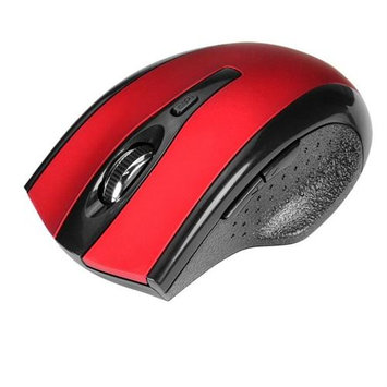 Siig 6-button Ergonomic Wireless Optical Mouse -red - Optical - Wireless - Red - Retail - USB Type A - 1000 Dpi - Scroll Wheel - 6 Button[s] - Symmetrical (jk-wr0912-s1)