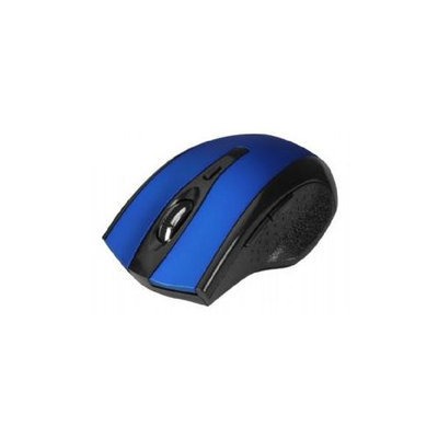 Siig 6-button Ergonomic Wireless Optical Mouse - Blue - Optical - Wireless - Blue - Retail - USB Type A - 1000 Dpi - Scroll Wheel - 6 Button[s] - Symmetrical (jk-wr0b12-s1)
