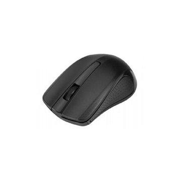 Siig 2.4ghz Wireless Optical Mouse - Black - Optical - Wireless - Black - Retail - USB Type A - 1000 Dpi - Scroll Wheel - Symmetrical (jk-wr0c12-s1)