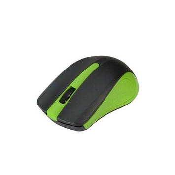 Siig 2.4ghz Wireless Optical Mouse - Green - Optical - Wireless - Green - Retail - USB Type A - 1000 Dpi - Scroll Wheel - Symmetrical (jk-wr0e12-s1)