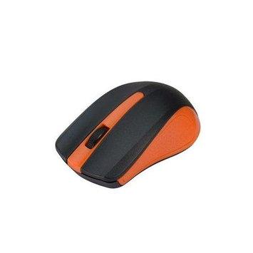 Siig 6-button Ergonomic Wireless Optical Mouse - Orange - Optical - Wireless - Orange - Retail - USB Type A - 1000 Dpi - Scroll Wheel - 6 Button[s] - Symmetrical (jk-wr0f12-s1)
