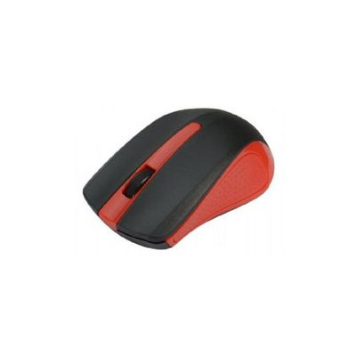Siig 2.4ghz Wireless Optical Mouse - Red - Optical - Wireless - Red - Retail - USB Type A - 1000 Dpi - Scroll Wheel - Symmetrical (jk-wr0g12-s1)