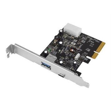 Siig, Inc. USB 3.1 2PORT PCIE HOST ADAPTERCTLRTYPE-A/C