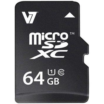 IGRMUU8153 - V7 VAMSDX64GUHS1R-2N 64GB microSD Extended Capacity (microSDXC)
