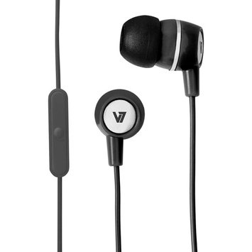 Overstock V7 Stereo Earbuds with Inline Microphone