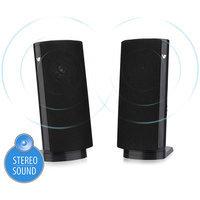 V7 SP2000-USB-1NC 2.0 Speaker System - 1 W RMS - Desktop - Black
