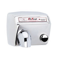 World Dryer AirMax Heavy Duty Hand Dryer Finish: Polished Stainless Steel, Voltage: 208-240 V