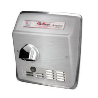 World Dryer AirMax Hand Dryer Finish: Brushed Stainless Steel, Voltage: 208-240 V