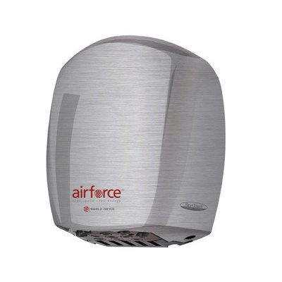 World Dryer Airforce 110 - 120 V Hygienic High-Speed Automatic Hand Dryers