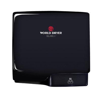 World Dryer Slimdri Surface Mount Hand Dryer Finish: Aluminum Black