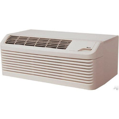 Amana PTC123G35AXXX Stonewood Beige PTAC 11700 BTU Packaged Terminal Air Conditioner with 3.5 kW Electric Heater and DigiSmart Control System