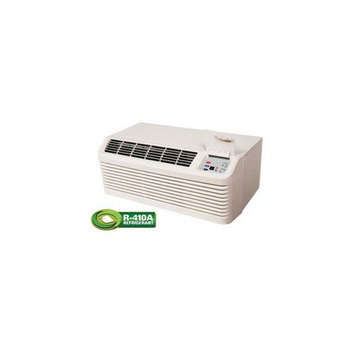 Amana PTC093G35AXXX Stonewood Beige PTAC 9000 BTU Packaged Terminal Air Conditioner with 3.5 kW Electric Heater and DigiSmart Control System