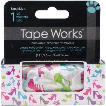 Sandy Lion Sandylion SCT2-113 Tape Works Accent Tape 3 in. X15ft-Shoes