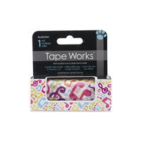 Sandy Lion Tape Works Accent Tape 3X15ft-Music Notes