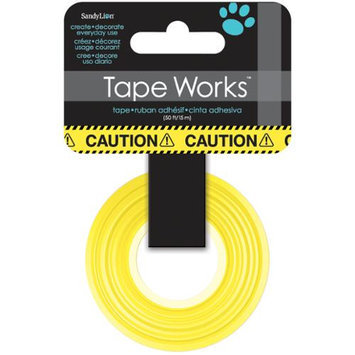 Sandylion Tape Works Tape .625 X50'-Caution