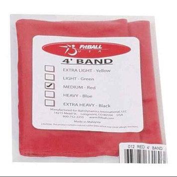 Fitball Pre-Cut Bands Medium in Red