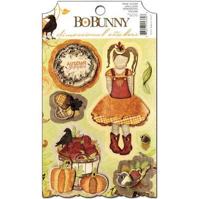 Bo Bunny Apple Cider Dimensional Stickers