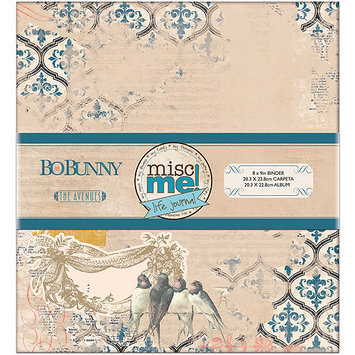 Bo Bunny 14824037 Misc Me Binder Life Journal 8 in. x 9 in-The Avenues