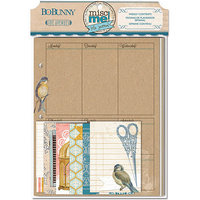 Bo Bunny 14826040 Misc Me Binder Contents-The Avenues Weekly