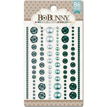 Bo Bunny DDJ-7520 Double Dot Jewels 86/Pkg-Aqua