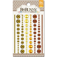 Bo Bunny DDJ-7522 Double Dot Jewels 86/Pkg-Citrus