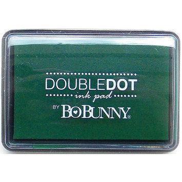 Bo Bunny BBIP-8610 BoBunny Double Dot Pigment Ink Pad-Emerald