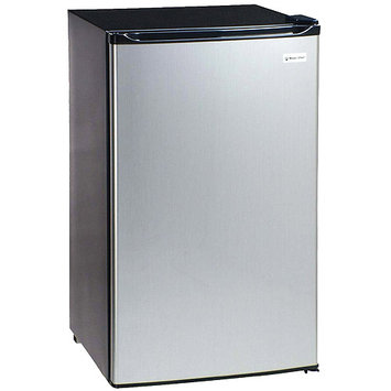Westinghouse Magic Chef MCBR360S 3.6 Cubic-ft Refrigerator - Stainless