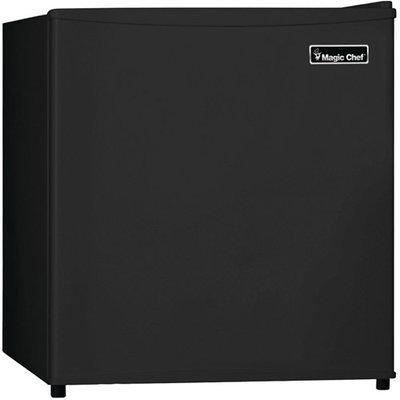 Magic Chef Compact Refrigerator 1.6 cu. ft. Mini Refrigerator in Black MCBR160B2
