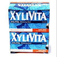 Whitening Gum Chia Mint Box Xylivita 12 Packs Box
