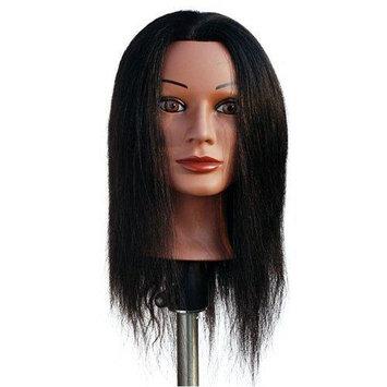 Marianna Miss Jenny Black Manikin Head