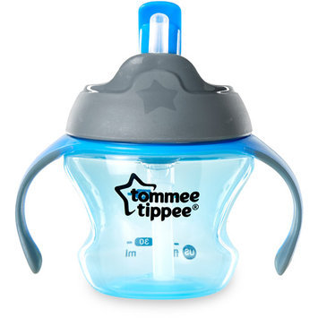 Tommee Tippee 1st Sips Straw Trainer Cup - Blue