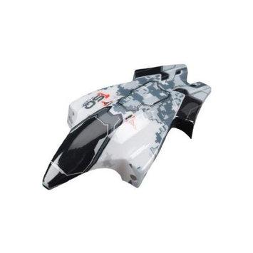 Heli Max 1SQ V-Cam Canopy, White/Black HMXE2211 HeliMax