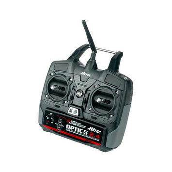 Hitec Optic 5 2.4 GHz remote control system