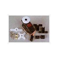 Hitec 112086 HS-85MG Single ball bearing Metal Gear JR Mini servo Analogue servo