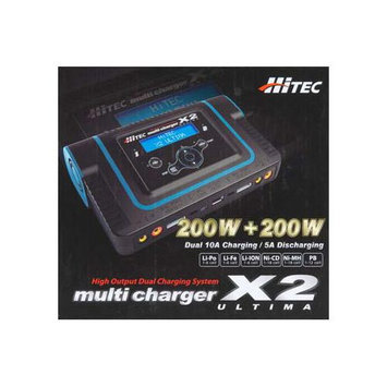 Hitech 44164 X2 Ultima Two Channel Charger HRCP4164